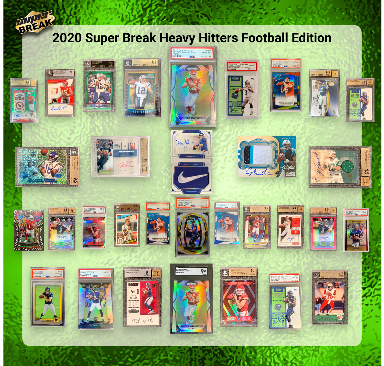 2020 Super Break Heavy Hitters Football
