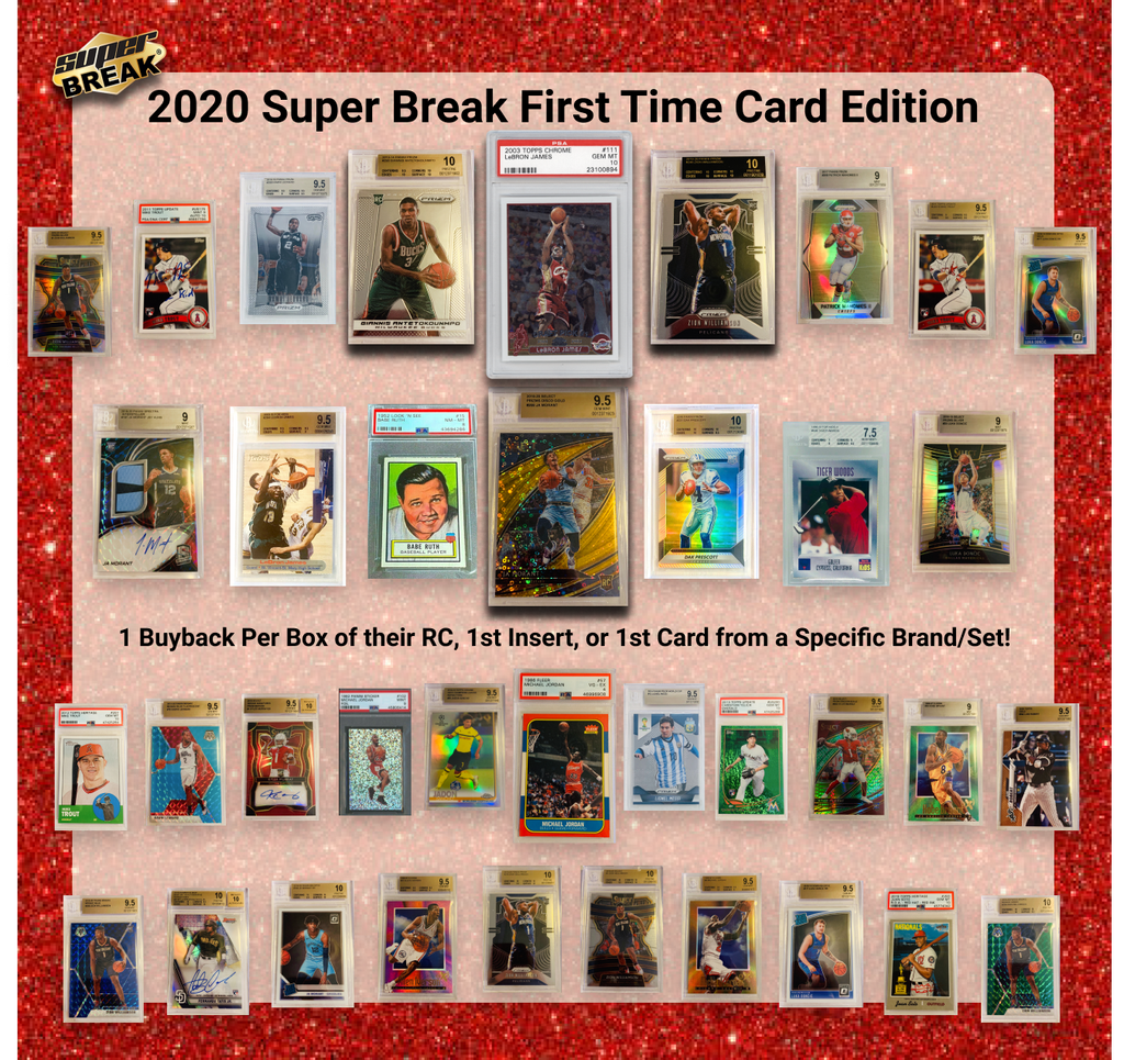 2021 Super Break First Time Card Edition