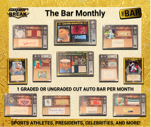 The Bar Cut Autograph Monthly