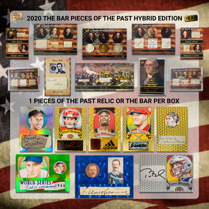 2020 The Bar Pieces of the Past Hybrid Edition Retail Case (10-box)