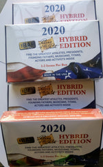 2020 The Bar Pieces of the Past Hybrid Edition (4-box Lot)