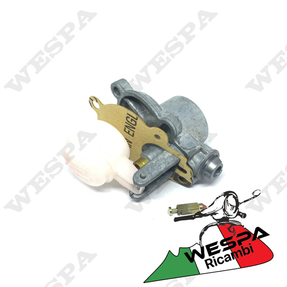 KIT REVISIONE VASCHETTA E GALLEGGIANTE CARBURATORE VESPA 125 150 180 200