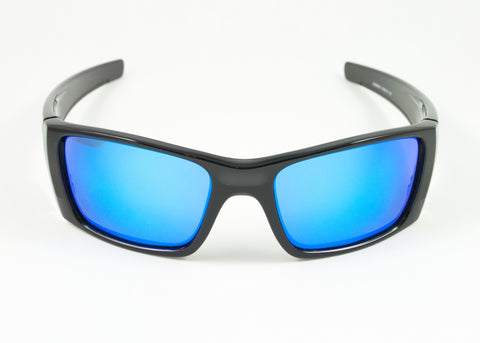 Oakley Fuel Cell Polished Black / Ice Iridium Polarized