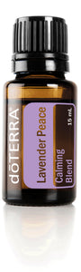 dōTERRA Lavender Peace Oil Blend 15ml - CUSTOM AND ESSENTIALS