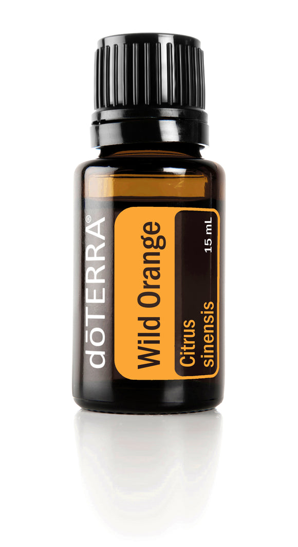 dōTERRA Wild Orange Single Oil 15ml - CUSTOM AND ESSENTIALS