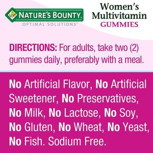 Nature's Bounty Optimal Solutions® Hair Skin & Nails Strawberry