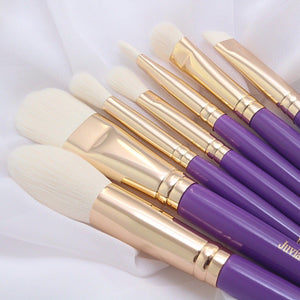 7PCS PURPLE BRUSH SET- (para pick-up em RIBEIRAO P.)