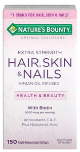 Nature's Bounty Hair, Skin, and Nails (150 count)