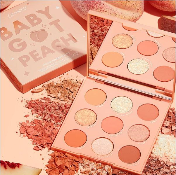 Colourpop Baby Got Peach Eye Palette