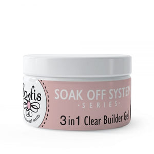 3 in 1 Clear Builder By Somfis 20ml