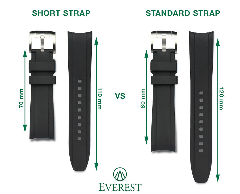 everest straps in standard and short sizes