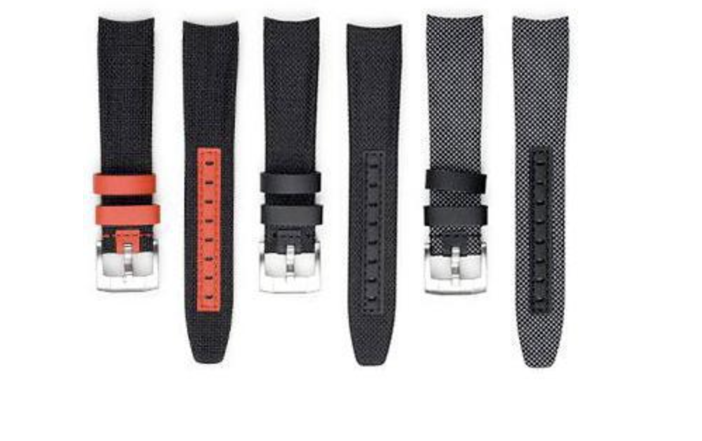 curved end nylon straps by everest bands