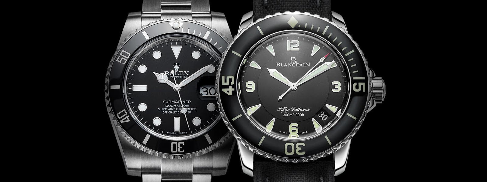 rolex and blancpain