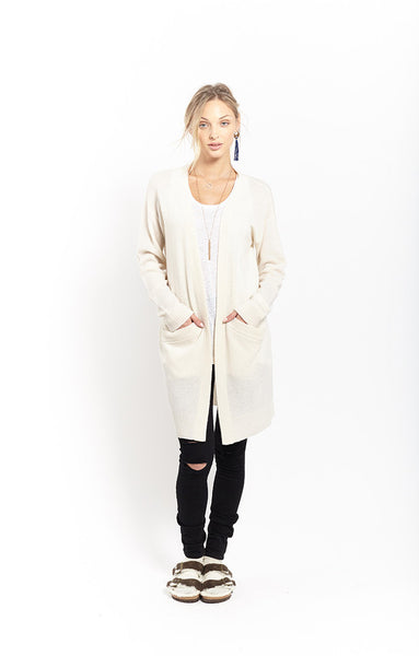 Oversized Coatigan | Ivory