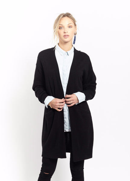 Oversized Coatigan | Black