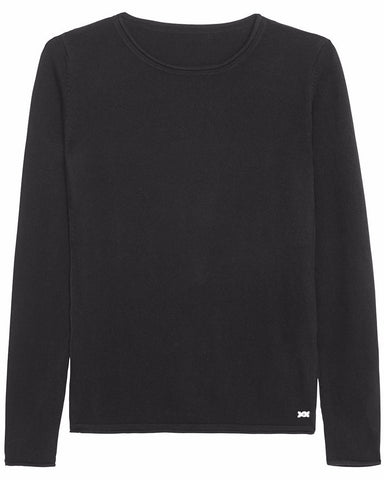 Surfer Crew Neck Sweater | Black - Banjo & Matilda | Australia  - 3