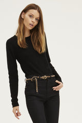 Surfer Crew Neck Sweater | Black - Banjo & Matilda | Australia  - 4