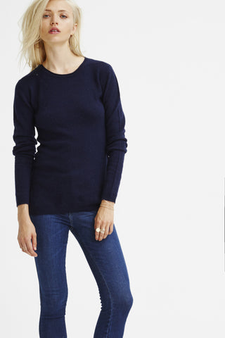 EXCLUSIVE PRE-ORDER Surfer Crew Neck Sweater | Navy - Banjo & Matilda | Australia  - 3