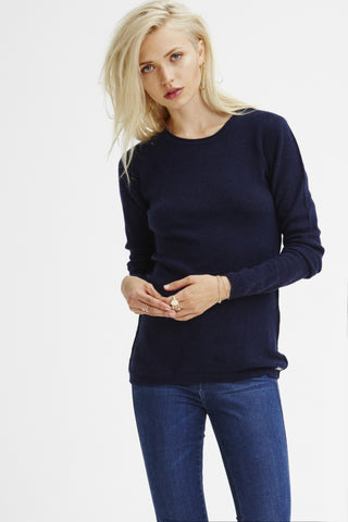 EXCLUSIVE PRE-ORDER Surfer Crew Neck Sweater | Navy - Banjo & Matilda | Australia  - 1