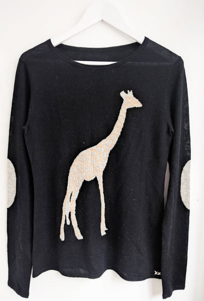 Giraffe Crew | Black - EXCLUSIVE SAMPLE