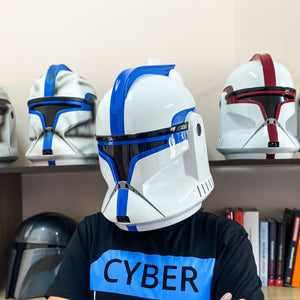 Clone Trooper Phase 1 Lieutenant Star Wars Helmet