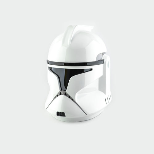 Clone Trooper Phase 1 Shiny Star Wars Helmet - Cyber Craft