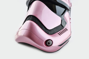 Star Wars First Order Pink Stormtrooper Helmet - Cyber Craft