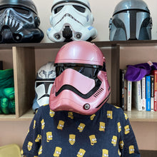 Load image into Gallery viewer, Star Wars First Order Pink Stormtrooper Helmet - Cyber Craft