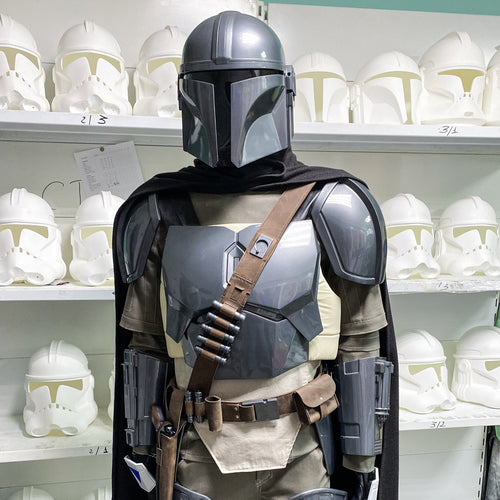 Star Wars Mandalorian Beskar Cosplay Suit - Cyber Craft