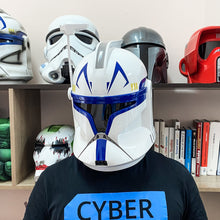 Load image into Gallery viewer, Captain Rex Clone Trooper Phase 1 Star Wars Helmet - Cyber Craft