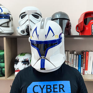 Captain Rex Clone Trooper Phase 1 Star Wars Helmet - Cyber Craft