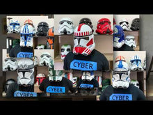 Load and play video in Gallery viewer, Jesse Clone Trooper Star Wars Helmet Clone Wars
