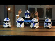 Load and play video in Gallery viewer, Captain Rex Clone Trooper Phase 1 Star Wars Helmet