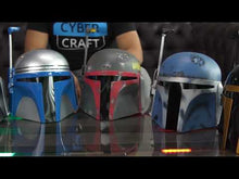 Load and play video in Gallery viewer, Star Wars Bo-Katan Mandalorian Helmet