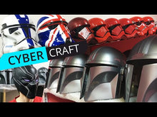 Load and play video in Gallery viewer, Star Wars Crimson Imperial Stormtrooper Helmet