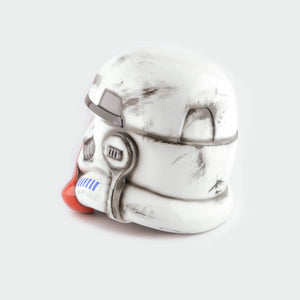 Star Wars Imperial Incinerator Stormtrooper Helmet Damaged