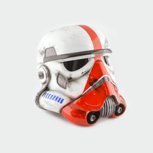 Load image into Gallery viewer, Star Wars Imperial Incinerator Stormtrooper Helmet Damaged