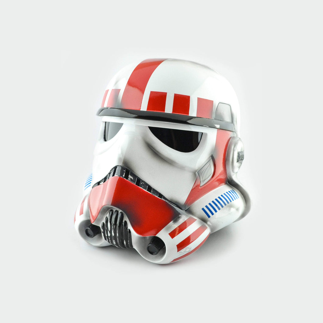 Star Wars Imperial Shock Stormtrooper Helmet Damaged - Cyber Craft