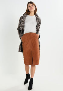 Second Female Perkin Suede Skirt
