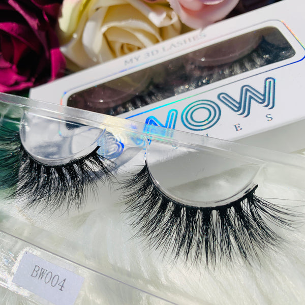 MY 3D LASHES BWOW004 - BWOW Cosmetics