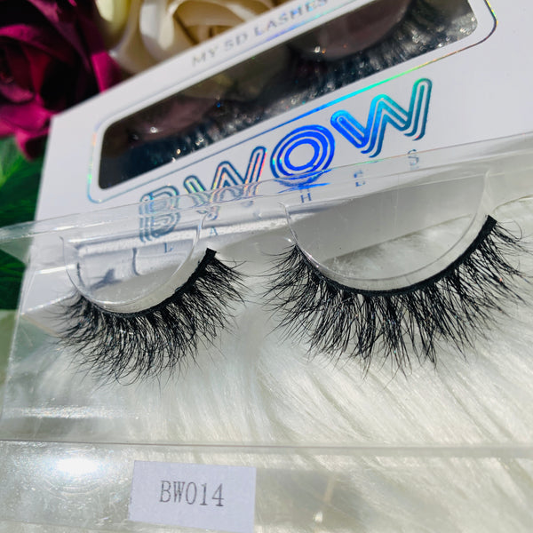 MY 5D LASHES BWOW014 - BWOW Cosmetics