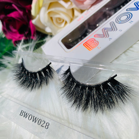 MY 3D LASHES BWOW028 - BWOW Cosmetics