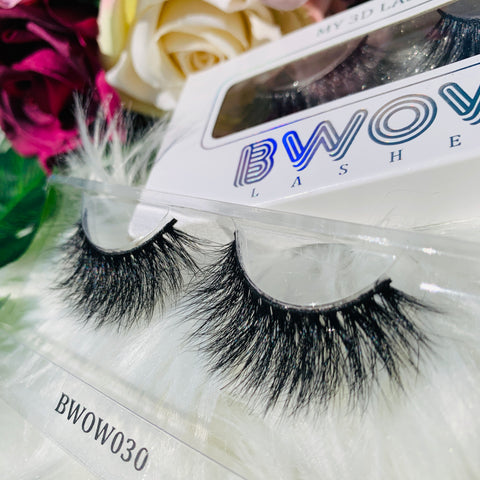 MY 3D LASHES BWOW030 - BWOW Cosmetics