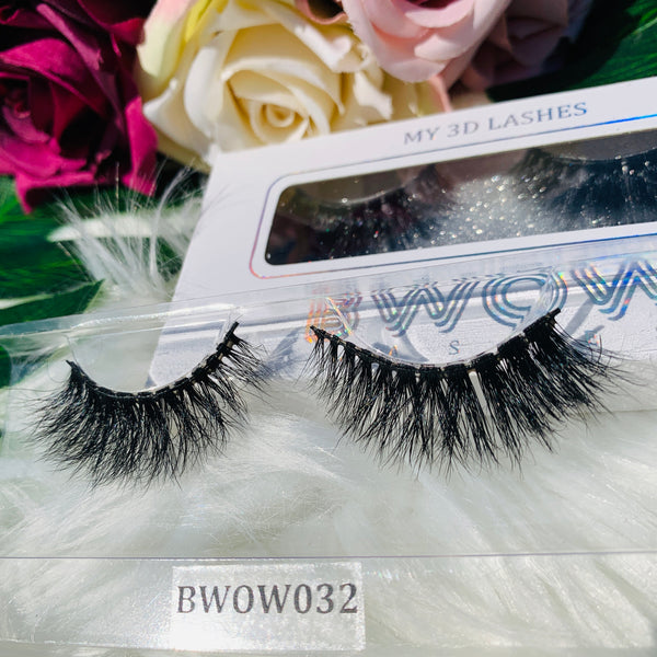 MY 3D LASHES BWOW032 - BWOW Cosmetics