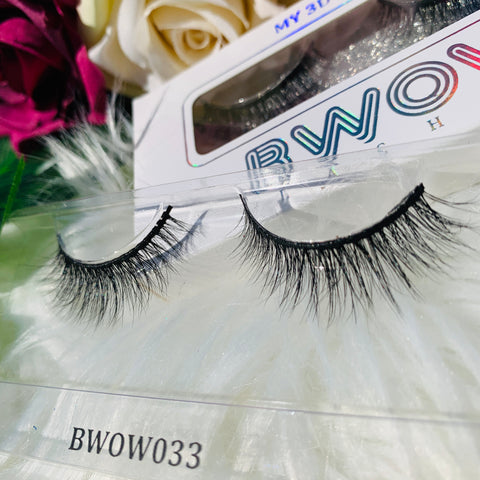 MY 3D LASHES BWOW033 - BWOW Cosmetics