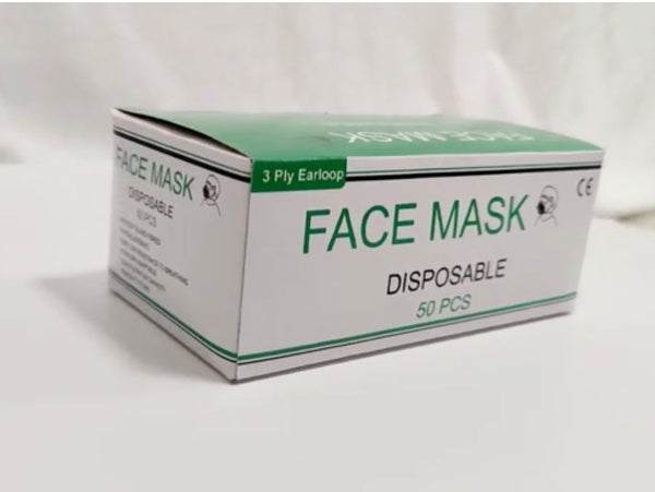 Disposable Face Mask - PACKS or BOX - BWOW Cosmetics