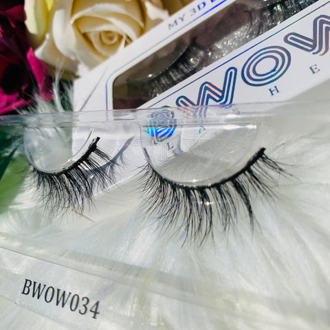 MY 3D LASHES BWOW034 - BWOW Cosmetics