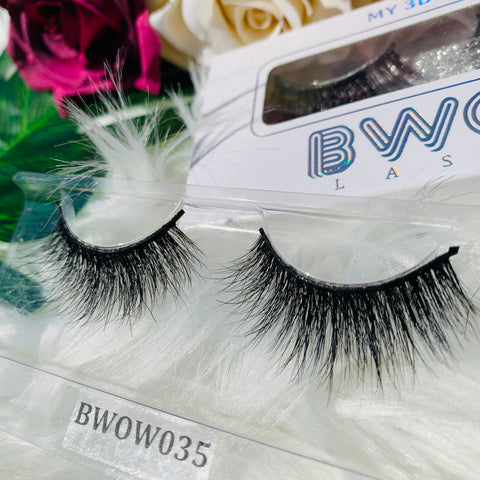 MY 3D LASHES BWOW035 - BWOW Cosmetics
