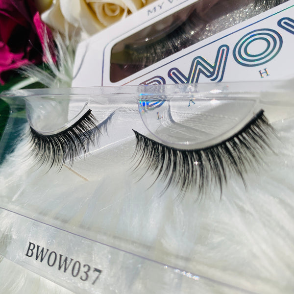 MY VEGAN SILK PROTEIN LASHES BWOW037 - BWOW Cosmetics