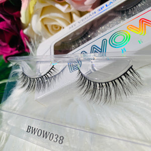 MY VEGAN SILK PROTEIN LASHES BWOW038 - BWOW Cosmetics